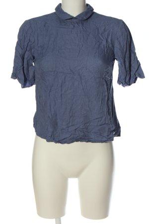 yfl RESERVED Blouse à manches courtes bleu style décontracté
