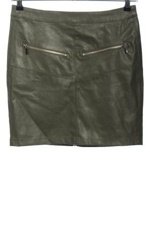 yfl RESERVED Minifalda marrón look casual