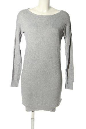 yfl RESERVED Vestido tipo jersey gris claro moteado look casual