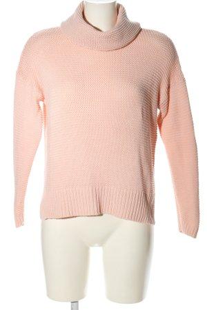 yfl RESERVED Rollkragenpullover pink Casual-Look