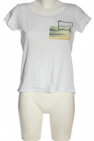yfl RESERVED T-Shirt Motivdruck Casual-Look