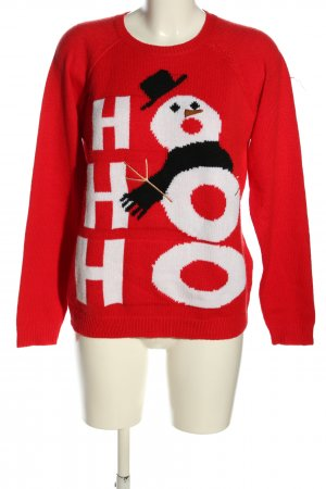 yfl RESERVED Christmasjumper themed print casual look