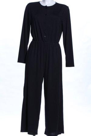 Yidarton Jumpsuit schwarz Business-Look