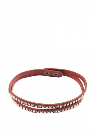 Yik fung Bracelet en cuir noir style décontracté