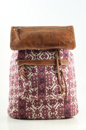 Ylang One Sac à dos de randonnée imprimé allover style décontracté