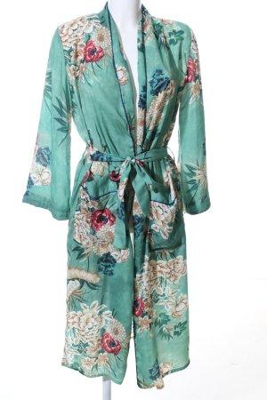 YMHY Kimono flower pattern casual look