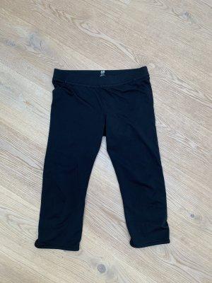 H&M Spodnie sportowe czarny