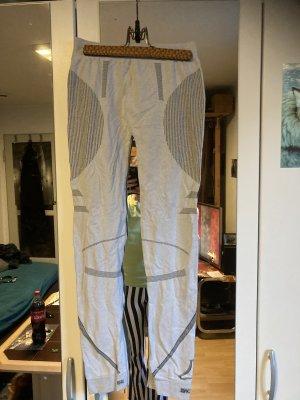 X-Action Spodnie sportowe jasnoszary-czarny
