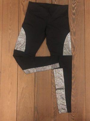 Yoga Leggings mit Glitzer Effekt