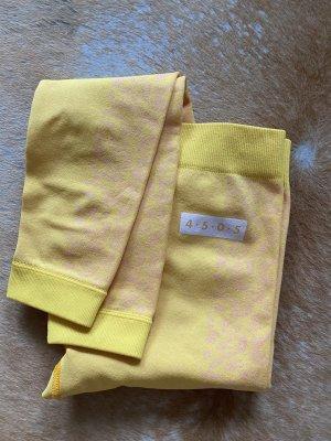 Asos Tall Spodnie sportowe żółty-różany