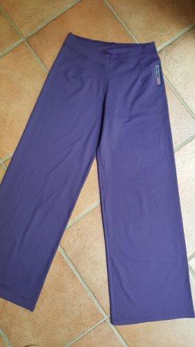 Yogahose dunkelviolett neu XS