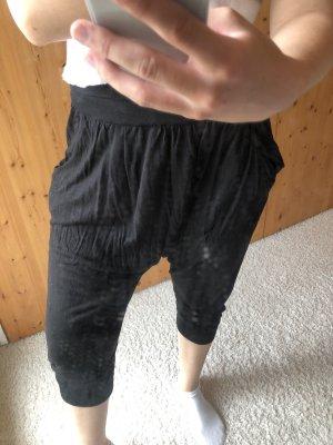 H&M Baggy broek zwart