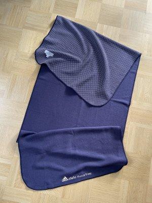 Adidas by Stella McCartney Serviette de plage violet foncé-blanc