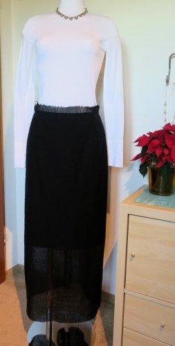 Yohji Yamamoto Wool/Cotton Skirt, Gr. 2 (38)