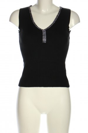 yoors Fine Knitted Cardigan black casual look