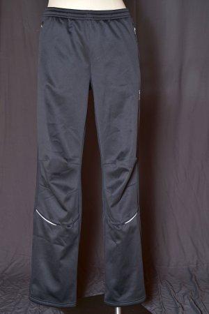 Pantalón térmico negro-color plata tejido mezclado