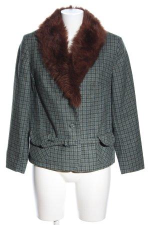 Yorkshire Tweed Kurzjacke Karomuster Casual-Look
