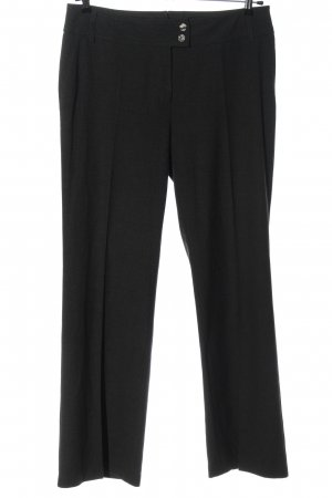 Yorn Pantalón de vestir negro estilo «business»