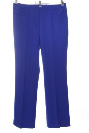 Yorn Anzughose blau Casual-Look