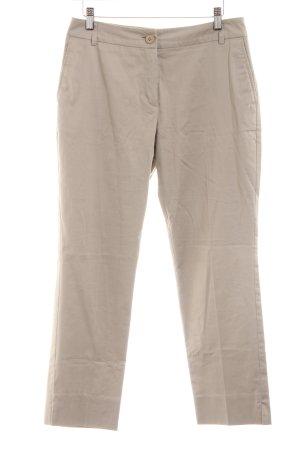 Yorn Pantalón de pinza blanco puro look casual