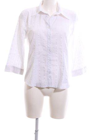 Yorn Hemd-Bluse weiß Streifenmuster Business-Look