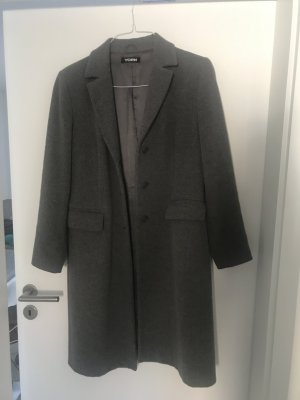 YORN Mantel in Grau Grösse 42 80% Wolle (Winter Sale), Fashion Blogger, Preppy Blogger