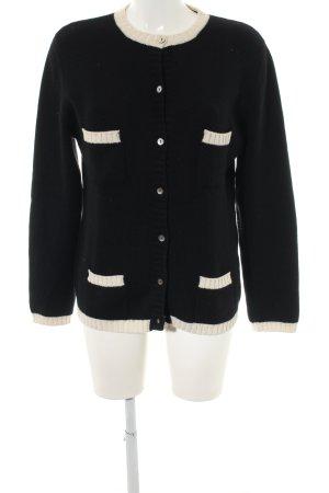Yorn Cardigan tricotés noir style décontracté