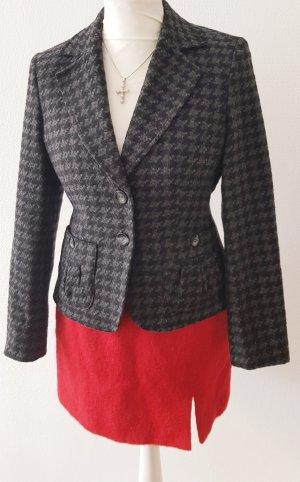 Yorn Blazer en laine noir-gris