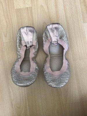 Yosi samra Foldable Ballet Flats rose-gold-coloured