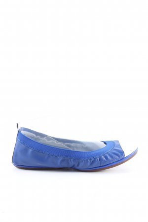 Yosi samra Foldable Ballet Flats blue-white casual look