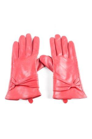 You&Me Fashion Leren handschoenen roze casual uitstraling