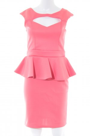 Young Blood Peplum jurk roze elegant