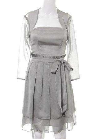 Young Couture by Barbara Schwarzer Ballkleid silberfarben Elegant