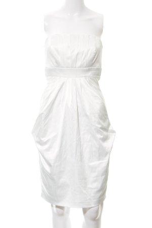 Young Couture by Barbara Schwarzer Ballonkleid weiß Elegant