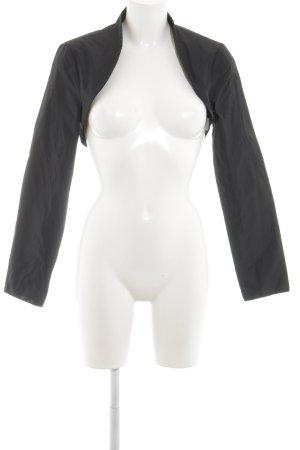 Young Couture by Barbara Schwarzer Bolero schwarz Allover-Druck Elegant