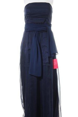 Young Couture by Barbara Schwarzer Vestido bustier azul elegante