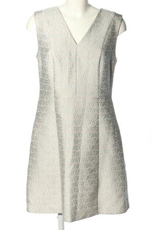Young Couture by Barbara Schwarzer Cocktailkleid hellgrau-creme Allover-Druck