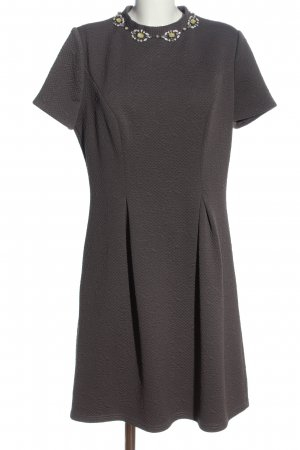 Young Couture by Barbara Schwarzer Midikleid braun Casual-Look