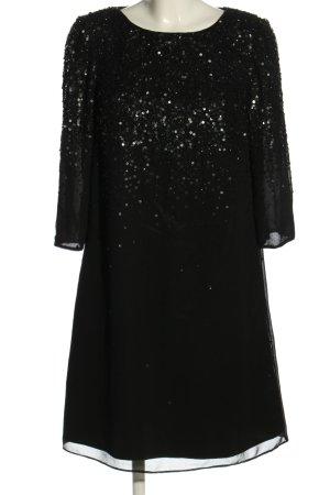 Young Couture by Barbara Schwarzer Robe à paillettes noir élégant