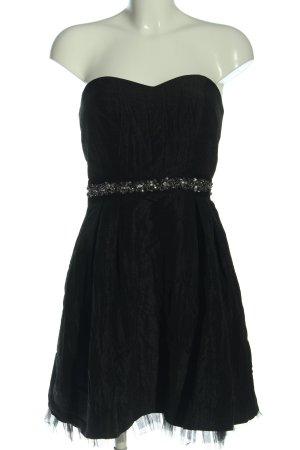 Young Couture by Barbara Schwarzer schulterfreies Kleid schwarz Elegant