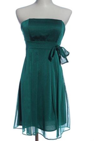 Young Couture by Barbara Schwarzer schulterfreies Kleid grün Elegant