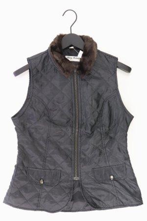 young fashion Gilet matelassé noir polyester