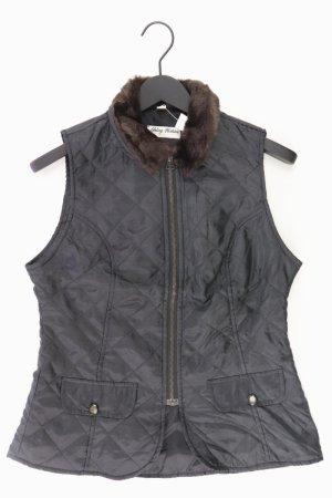 Young Fashion Weste schwarz Größe 38