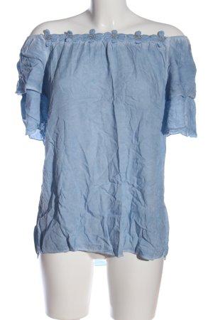 Young Spirit Carmen blouse blauw casual uitstraling