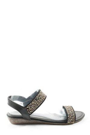 Young Spirit Komfort-Sandalen schwarz Elegant