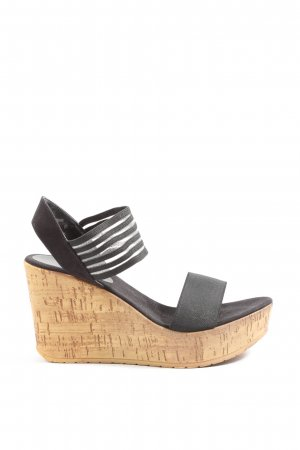Young Spirit Plateauzool sandalen zwart casual uitstraling