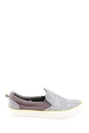 Young Spirit Instapsneakers lichtgrijs lila gestippeld casual uitstraling