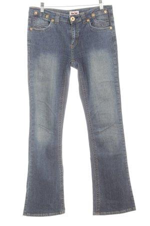 Young Spirit Stretch Jeans blau Metallknöpfe