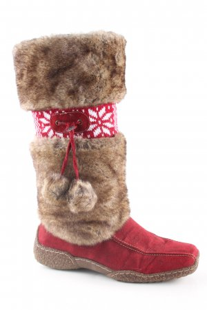 Young Spirit Winterstiefel grafisches Muster Casual-Look