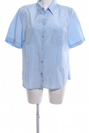 Your 6th Sense Shirt met korte mouwen blauw casual uitstraling